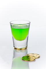 St Patrick's Day shot