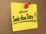 Change Smoke Alarm Battery