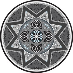 Stylized Flower Compass