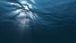 Under water Ocean sun light HD