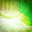 retro abstract green background