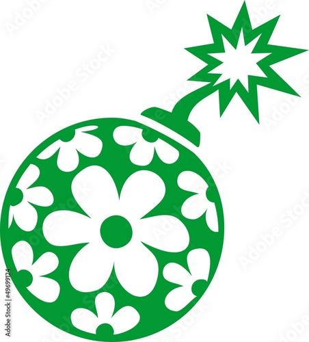 Guerilla Gardening - Blumen Saat Bombe