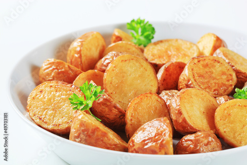 Roasted new potatoes