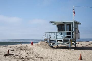 spiaggia a Venice beach a Los Angeles, California