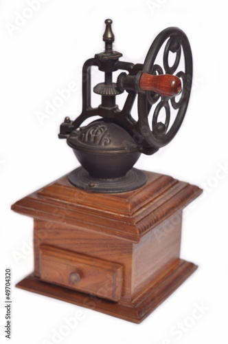 Coffee grinder, isolated
