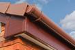 Leinwanddruck Bild - Roofline PVCU Soffit fascia board