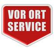 Marker rot VOR ORT SERVICE