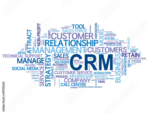 CRM Tag Cloud (customer relationship management strategy)