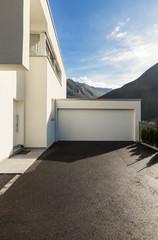 modern house white