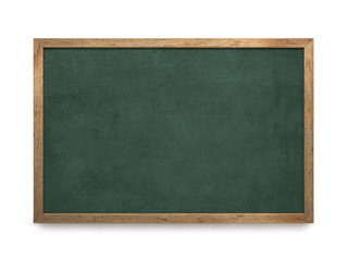 Blank old blackboard