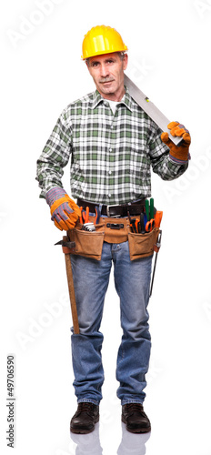 portrait of handyman