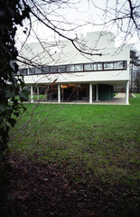 Villa Savoye in France by the architect Le Corbusier