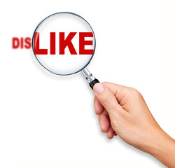 Changing Dislike into Like by Magnifying Glass