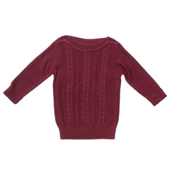 Vinous sweater isolated
