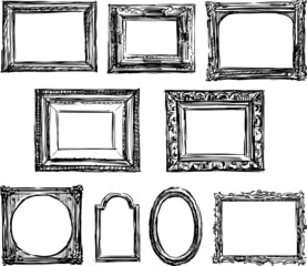 drawn frame