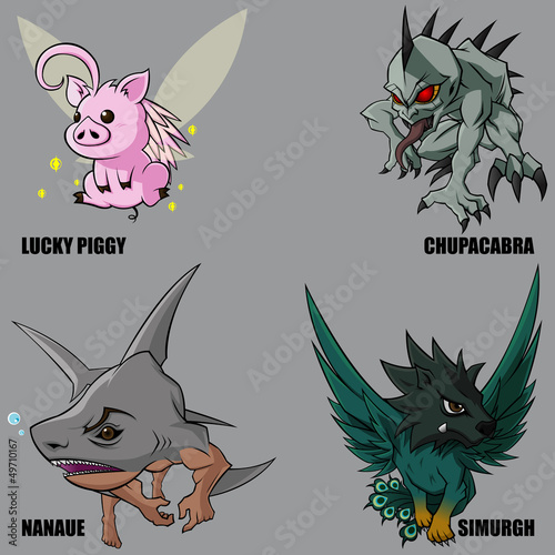 Mythical Creatures Set 15