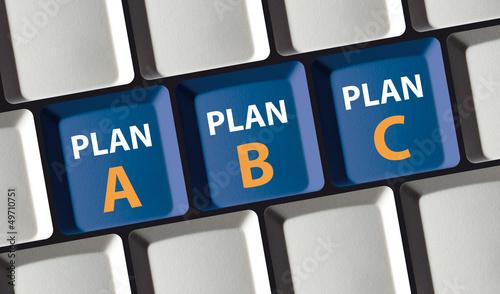 Plan A - Plan B - Plan C