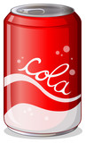 A can of cola