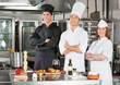 Chefs Standing With Arms Crossed