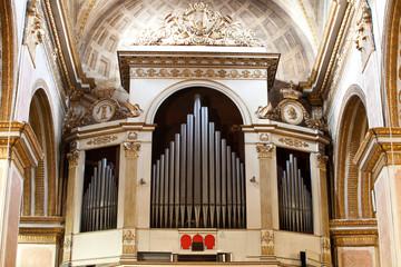 orgues d'église corse (saint marie à Bastia)