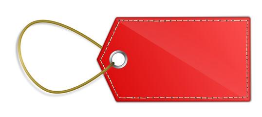 Roter Anhänger