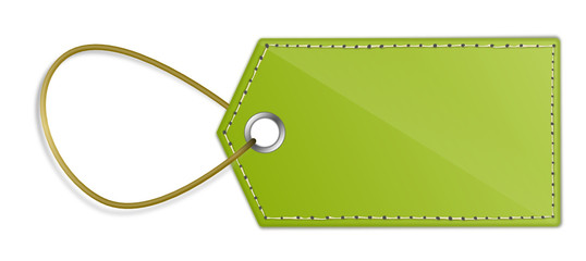 Grüner Anhänger