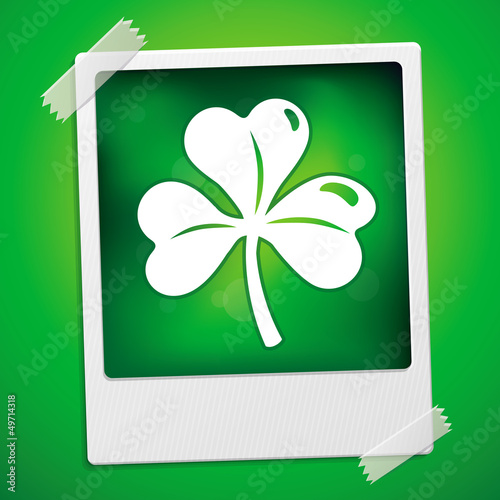 Patricks day card - vector illustration