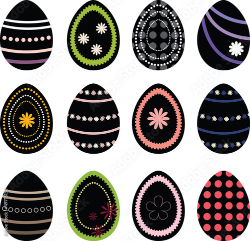 Set Easter Eggs