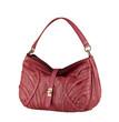 A luxury leather lady handbag