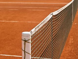 Tennisplatz Linien mit Netz 69