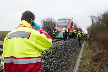 Bahnunfall - Rettungsdienst