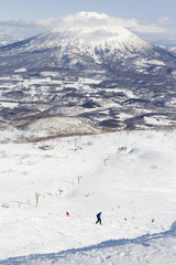 Winter sports at Niseko Resort, Hokkaido, Japan