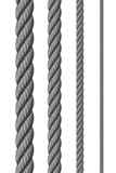 Steel metal ropes set