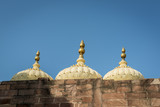 Dome over Mehrangarh fortress in Jodhpur, India