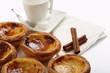 "traditional portuguese cakes - cream cake ""pasteis de nata"""