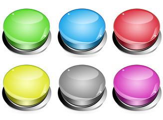 six boutons poussoirs