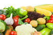 Fresh Healthy Vegetables / Big Assortiment / with copy space