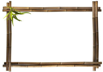 Bambusrahmen - Querformat