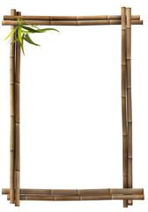 Bambusrahmen Hochformat