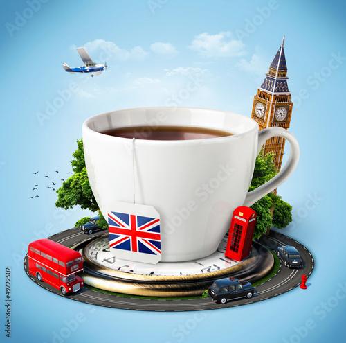 Leinwanddruck Bild England