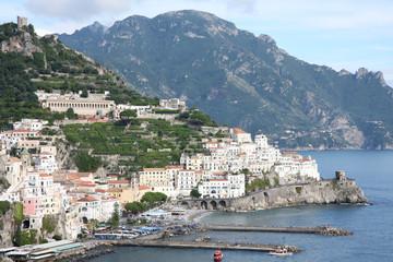 Vue sur Amalfi