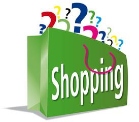 Tragetasche; Einkaufstuete; shoppen; einpacken; Prozente, Angebo