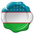 Wachssiegel Usbekistan