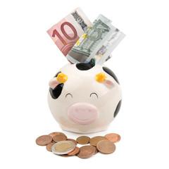 piggy soft money and coins
