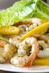 Shrimp Salad with Mango