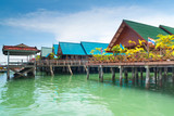 Ko Panyi fishing village in Thailand