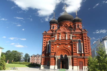 Orthodox cathedral in Tula