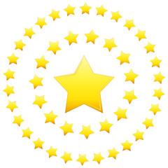 Circular Formation Stars