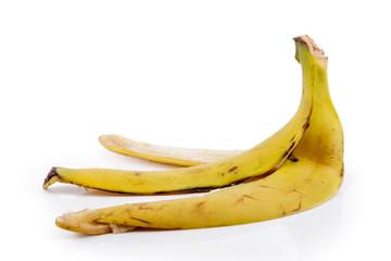 plátano de Canarias, sólo la piel