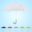 Set of 6 umbrellas in different colors